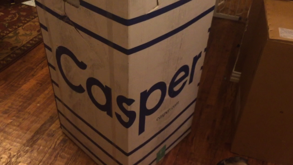 Setting up our Casper Mattress