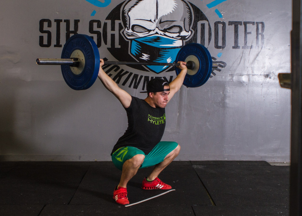 crossfit overhead squat