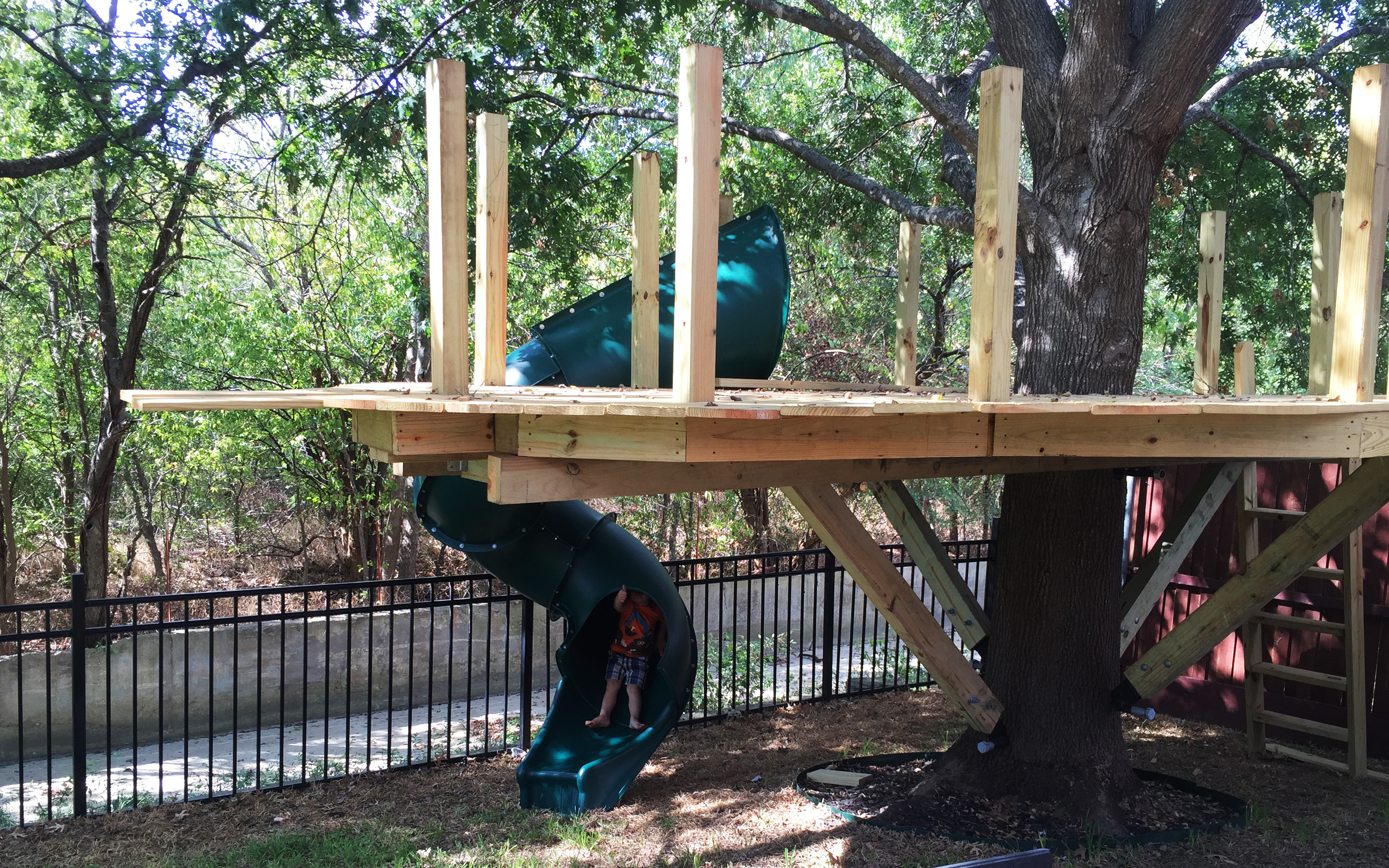 Design Single Tree Treehouse building a treehouse my thoughts and learnings purveyor of awesome brian pierce