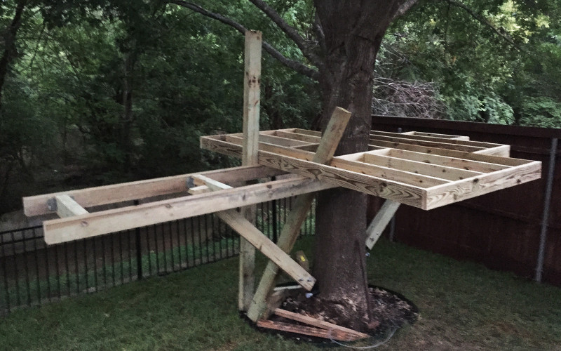 building-a-treehouse-structure-support