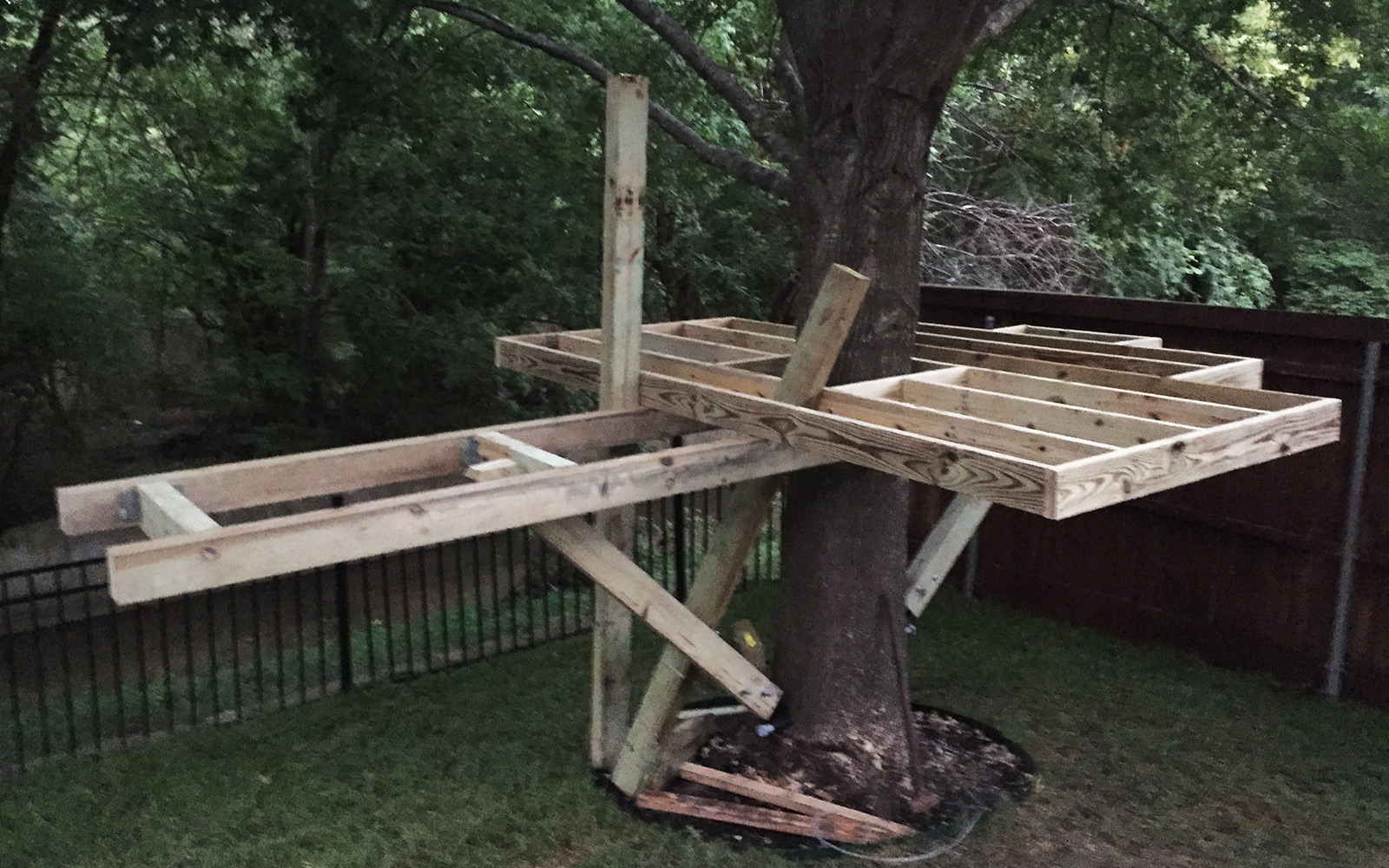 Building A Treehouse My Thoughts And Learnings Purveyor Of Awesome Brian Pierce