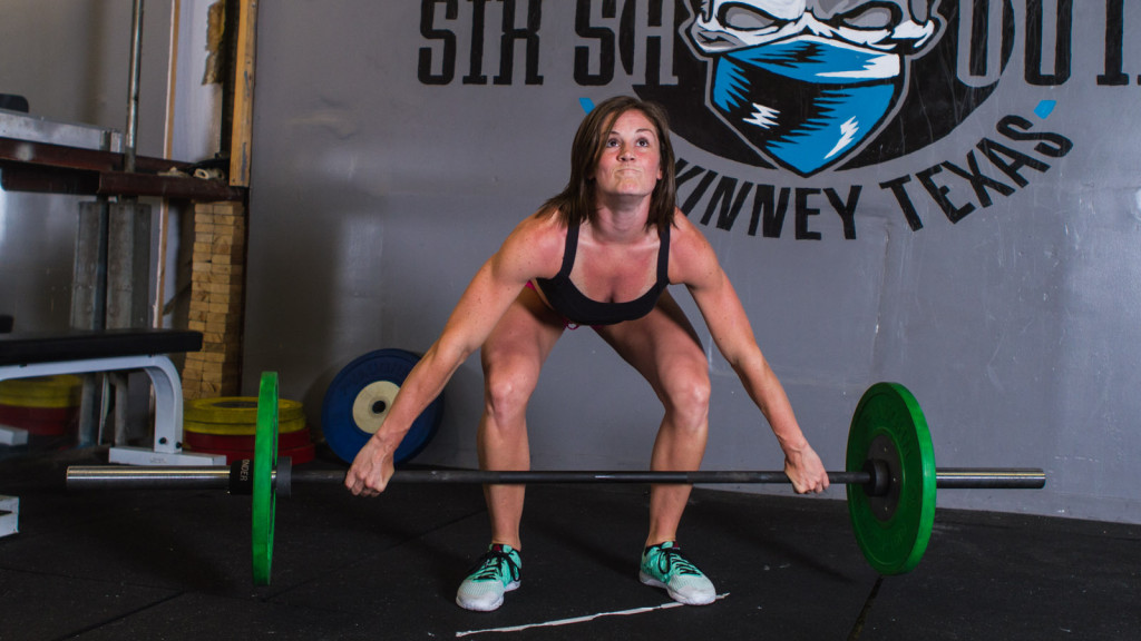 barbell pull